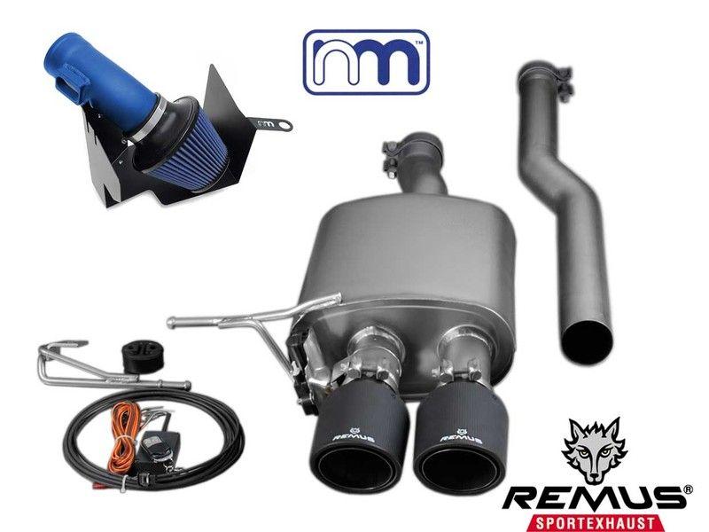Mini Cooper Stage 1 Upgrade Kit W Remus Exhaust F56 F55 Mini Cooper Mini Cooper Sport Mini Cooper R56