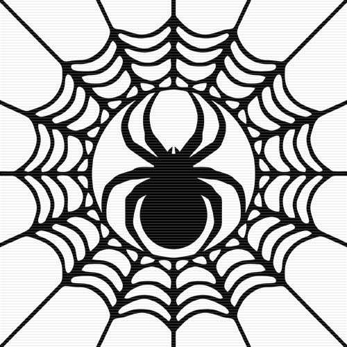 add die cut spiders to the front and wrap a black and white ribbon rh pinterest co uk Skull Clip Art Black Widow Spider Clip Art