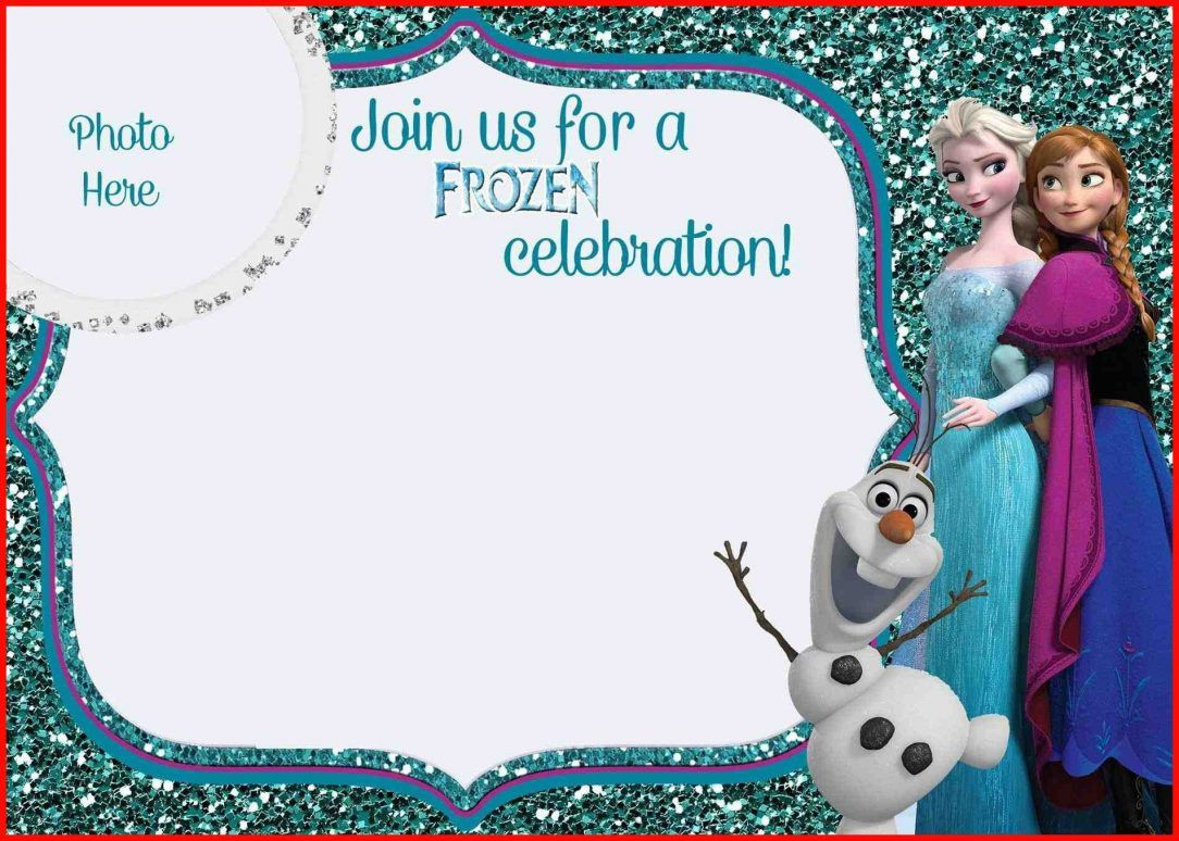 Frozen Invitation Template Free Download Best Of Free