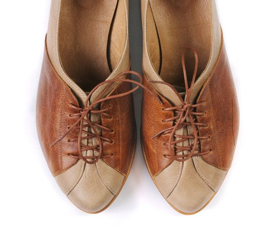Oxford shoes by MYKAshop on Etsy
