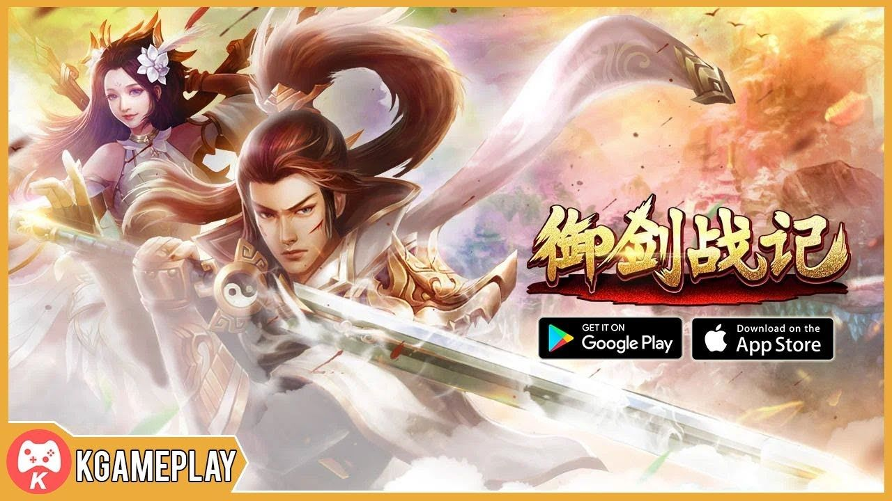 御剑战记 Yu Jian Battle Gameplay 3D MMORPG iOS Android