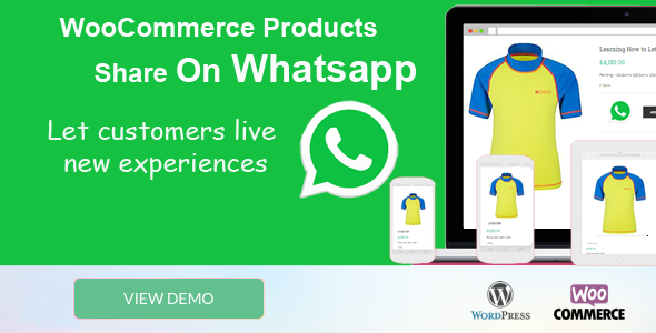 Woocommerce Products Share On Whatsapp | WordPress plugins
