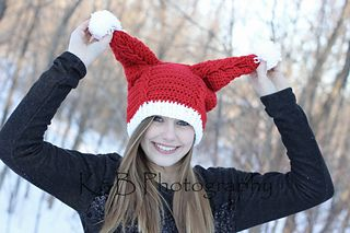 penny s santa hat pattern by martina gardner crochet stuff rh pinterest com
