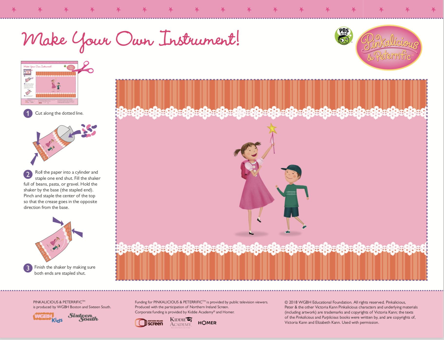 Making Music Lesson Plan Pinkalicious Peterrific Pbs Learningmedia Music Education Resources Music Lessons Coloring For Kids