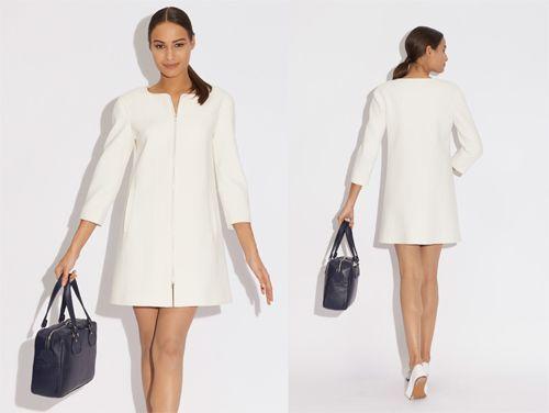 Hervorragend exemple patron gratuit robe style courrege | couture | Pinterest  IK51