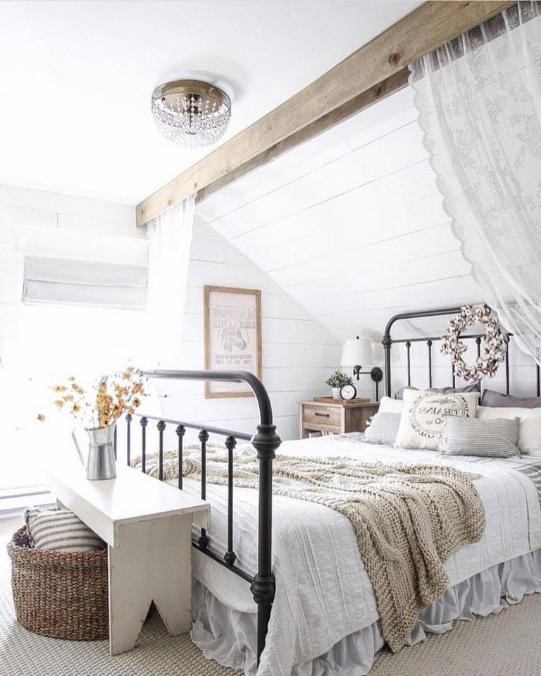 16 Fantastic Master Bedroom Decorating Ideas: 35+ Bucolic Peasant's House Style Master Bedroom