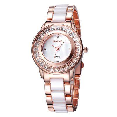 Prezzi e Sconti: #Weiqin 1031 women imported japan quartz watch Instock  ad Euro 33.21 in #Rose gold and white #Watchesjewelry womens watches