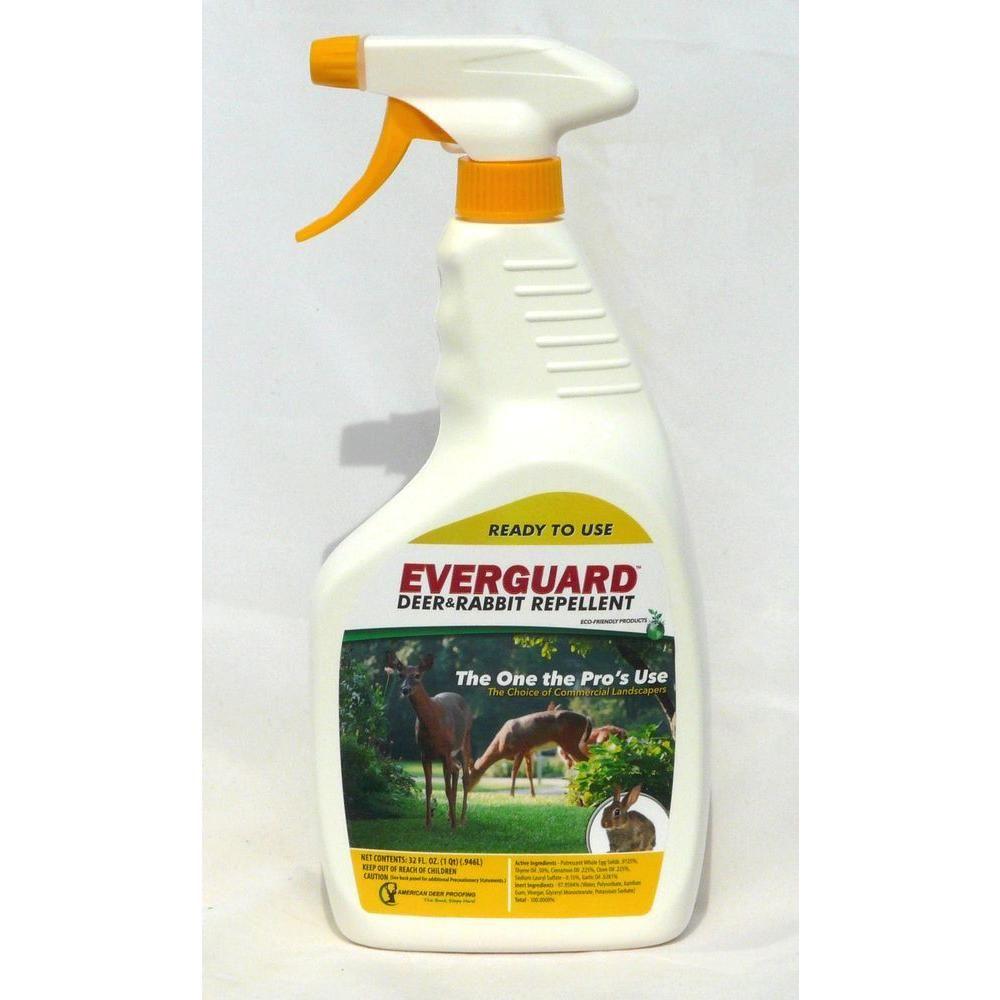 Everguard 32 oz readytouse deer and rabbit repellent