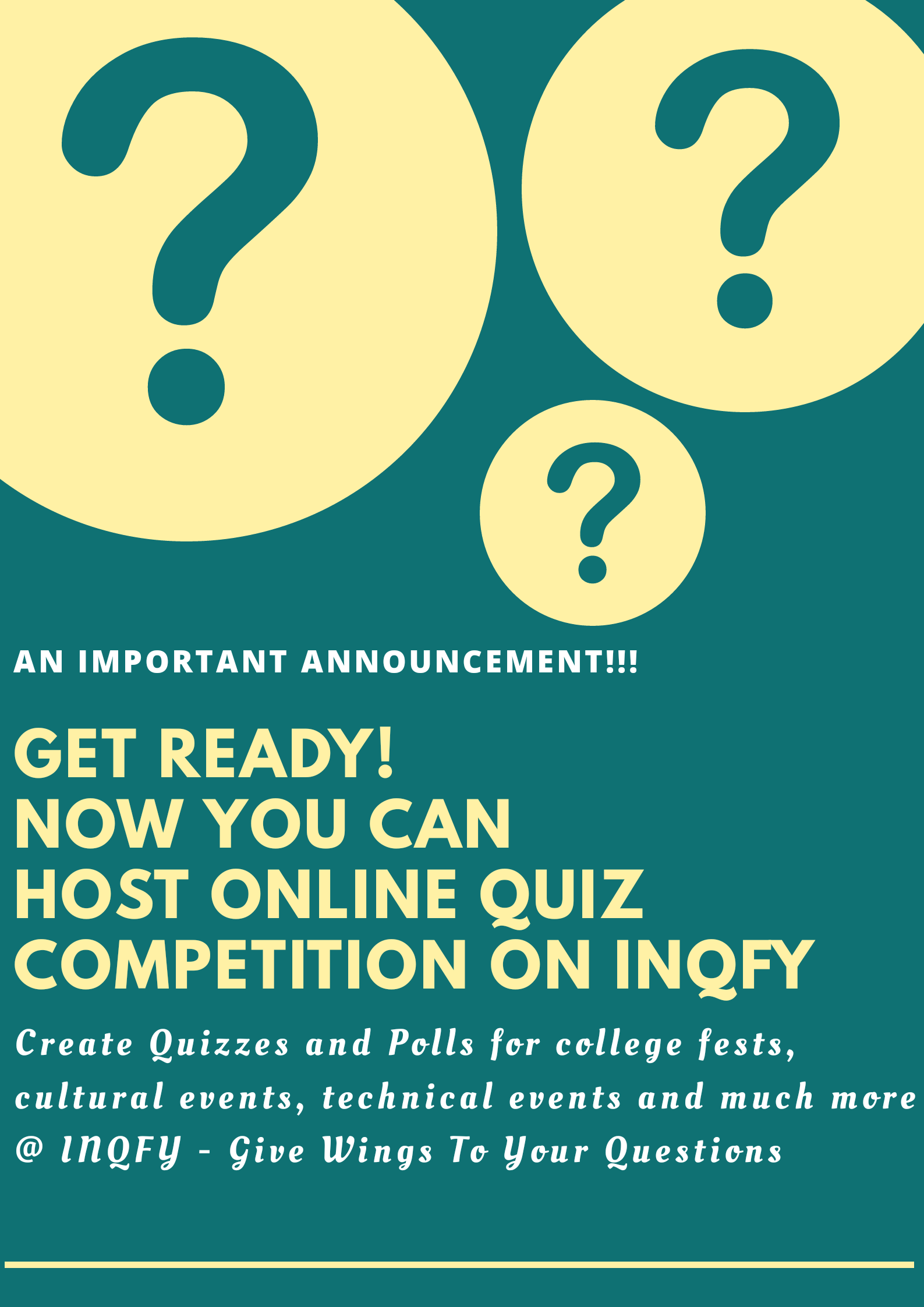 Host Your Online Quiz Competiton With Inqfy Quiz Questions Polls Inqfy Online Quiz Quiz This Or That Questions