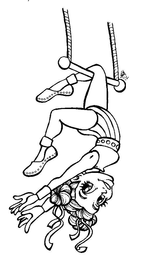 Acrobat | Pattern coloring pages, Stamp printing, Card drawing