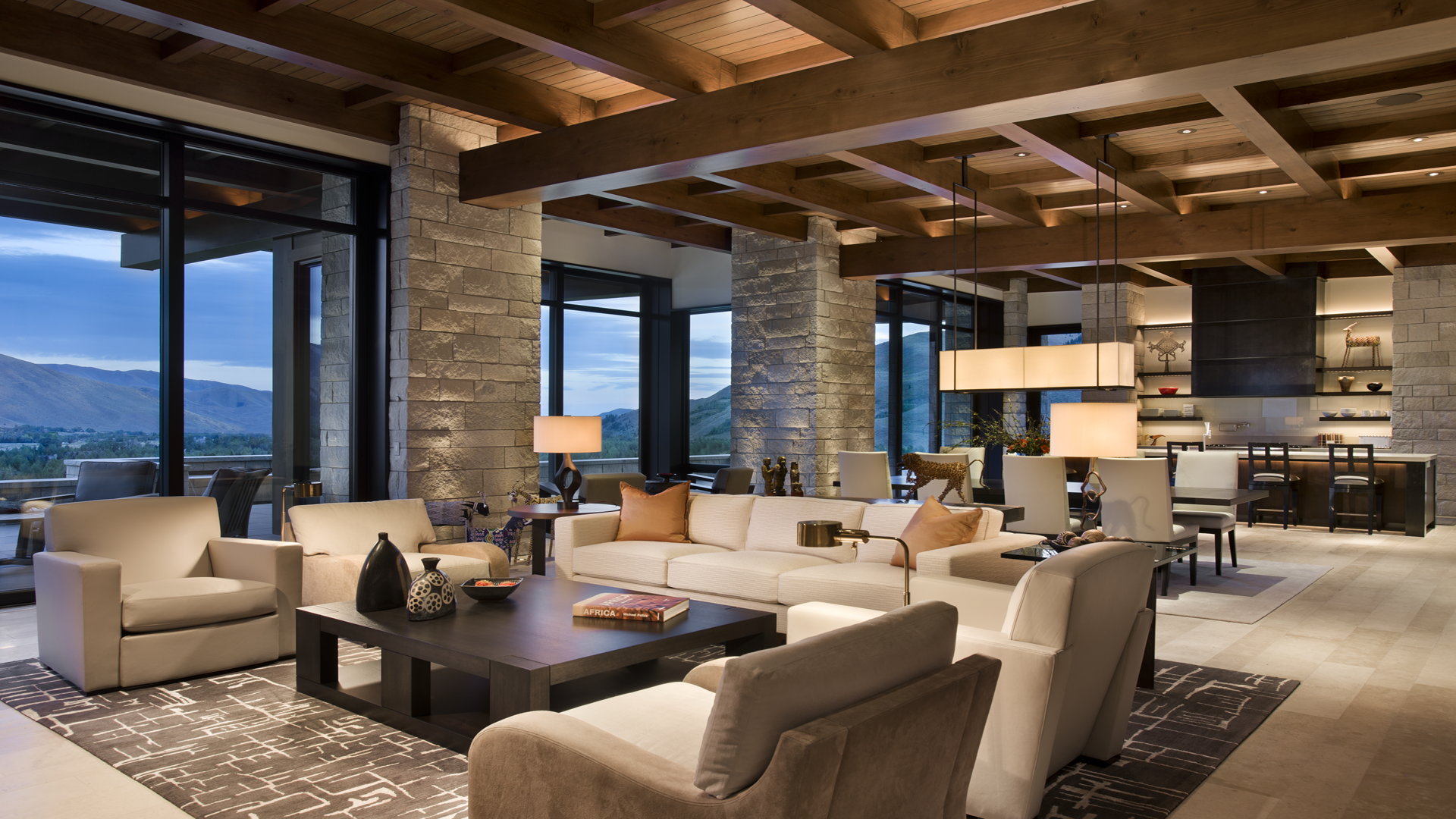 Mountain Contemporary Home Located In Sun Valley Idaho Architect