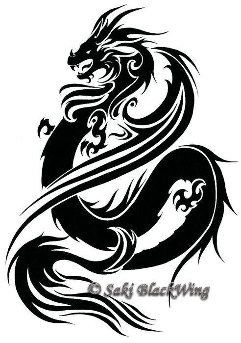 Http Img0 Liveinternet Ru Images Attach B 2 24 940 24940404 Dragon By Saki Blackwing Jpg Goog Narisovat Sovu Zhivotnoe Trafaret Yaponskij Drakon