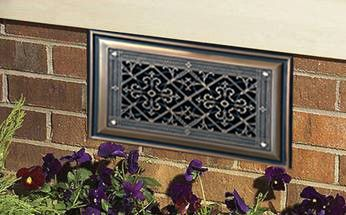 Decorative Alternative To Industrial Foundation And Crawlspace Vents Great Products For The