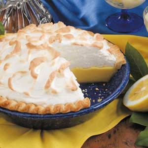 Creamy Buttermilk Lemon Pie Recipe Lemon Pie Recipe Lemon Recipes Buttermilk Recipes