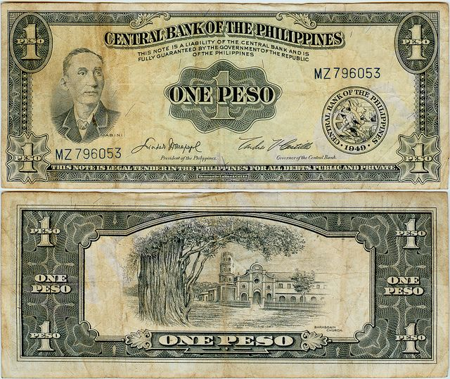 Philippine Peso Bills And Coins