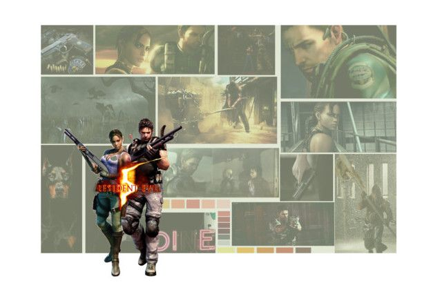 """Chris Redfield and Sheva Alomar 