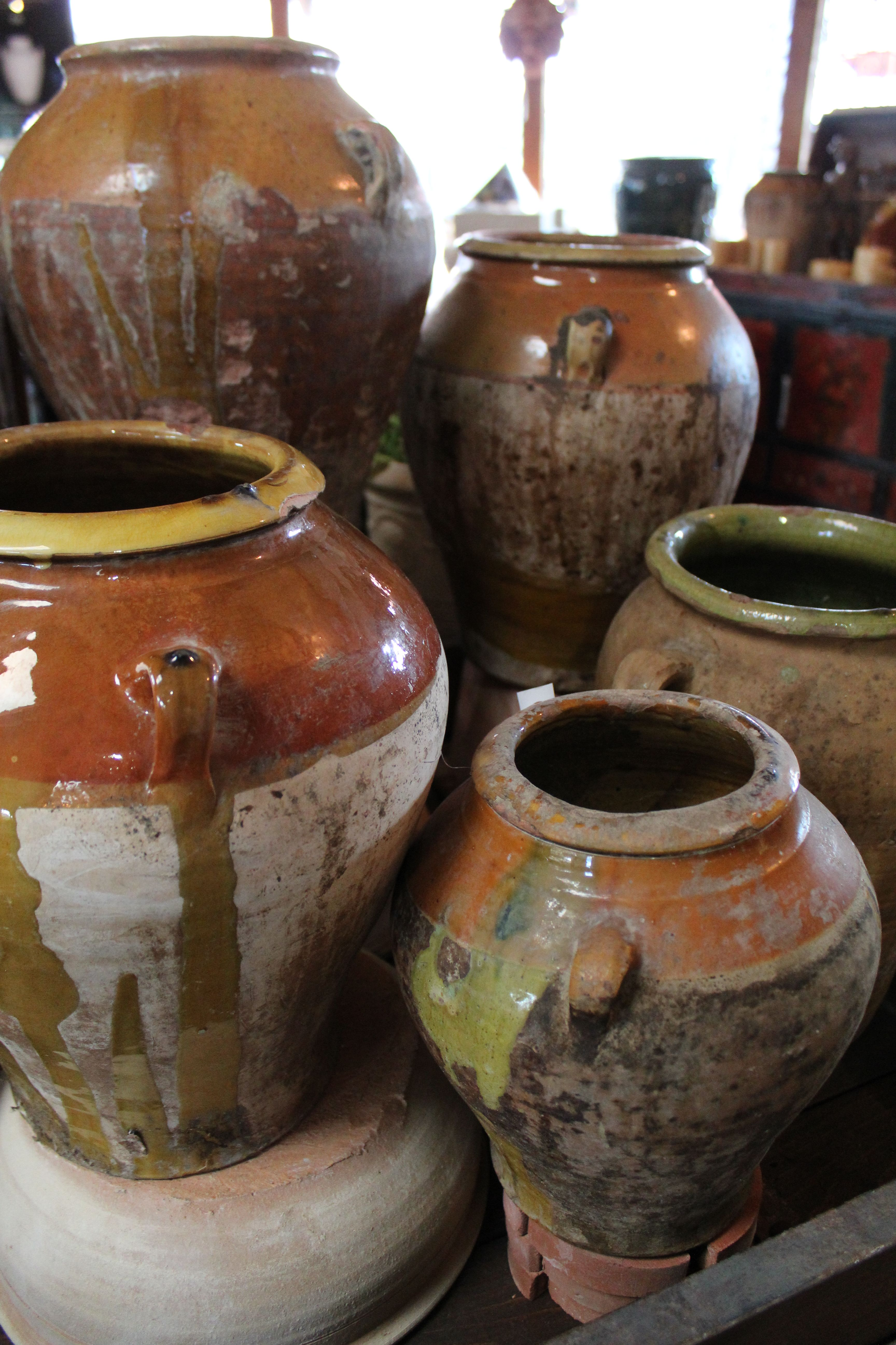 Every one of our vintage and antique Spanish jars are unique with ...