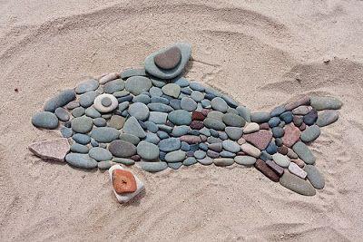 QUÉ ES EL LAND ART (con imágenes) | Arte de guijarros, Arte con ...