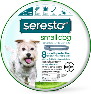 Seresto 8 Month Flea Tick Prevention Collar For Large Dogs 2 Pack In 2020 With Images Tick Prevention Fleas Large Dogs
