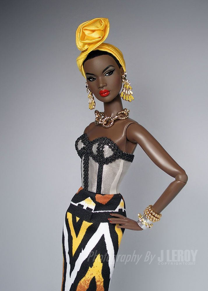 details about exotic nubian dress set for fashion royalty nu face details about exotic nubian dress set for fashion royalty nu face dolls