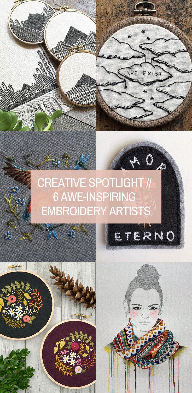 aweinspiring embroidery artists creative spotlight in