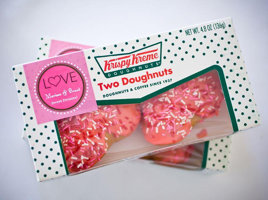 Krispy Kreme Wedding Favor Deweddingjpg