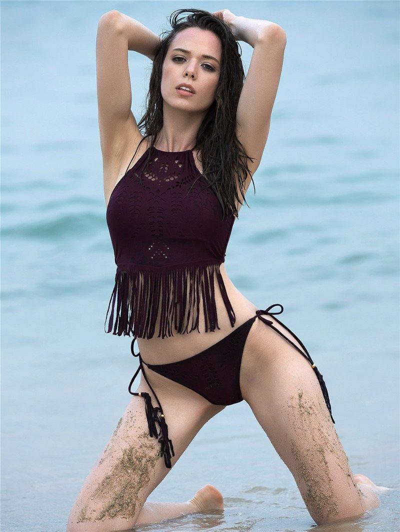 2017-Sexy-Bikinis-Women-High-Neck-Waist-Triangle-Halter