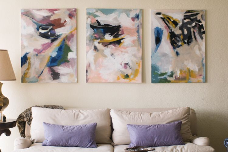 Abstract painting diy diy pinterest paintings diy art and craft abstract painting diy solutioingenieria Images