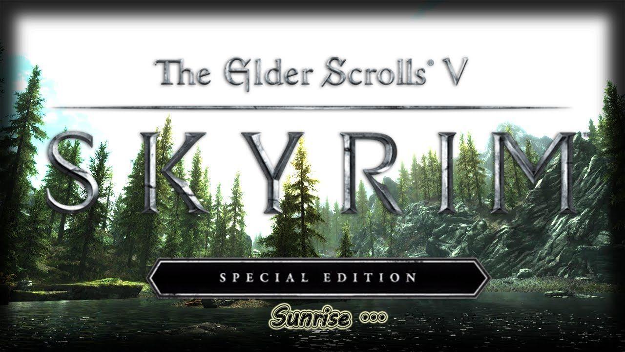 Wallpaper Engine - Skyrim Special Edition Sunrise - 2560x1080
