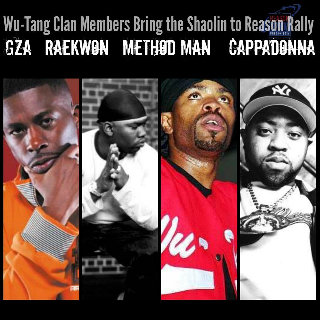 Members of the Wu-Tang Clan Will Appear at the Reason Rally