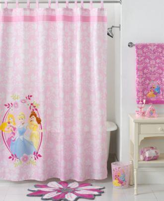 Disney Bath Disney Princesses Collection Shower Curtains Bed