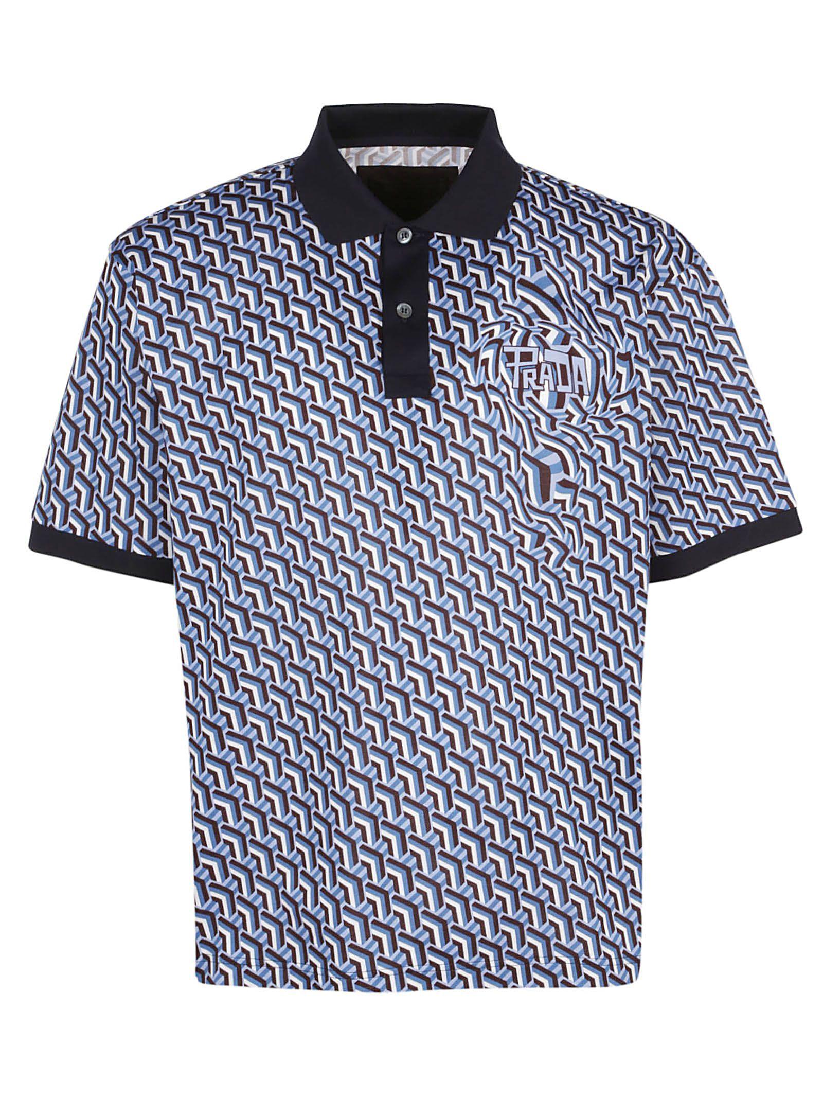 559b9bfc PRADA POLO T-SHIRT. #prada #cloth | Prada in 2019 | Polo t shirts ...