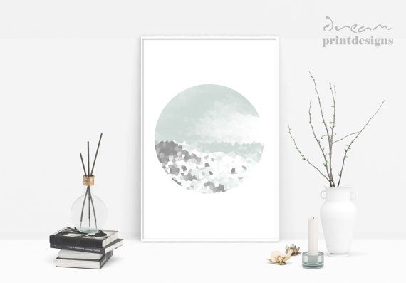 Printable Minimal Poster Modern Abstract By Dreamprintdesigns Chambre