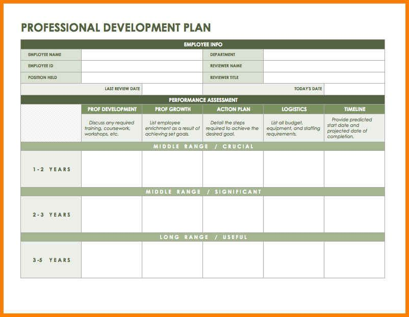 Employee Development Plan Template from i.pinimg.com