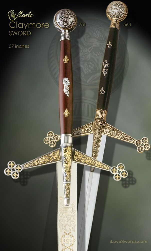 Claymore Swords By Marto Sparkly Blings And Baubles