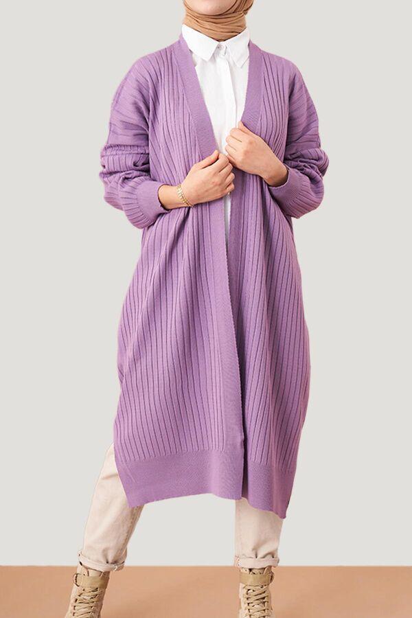 جاكيت بنفسجي فاتح صوف تسوق أون لاين حجاب مودانيسا أزياء محجبات ملابس محجبات فساتين جلباب عباية ملابس In 2021 Muslim Women Clothing Abaya Dress Islamic Clothing
