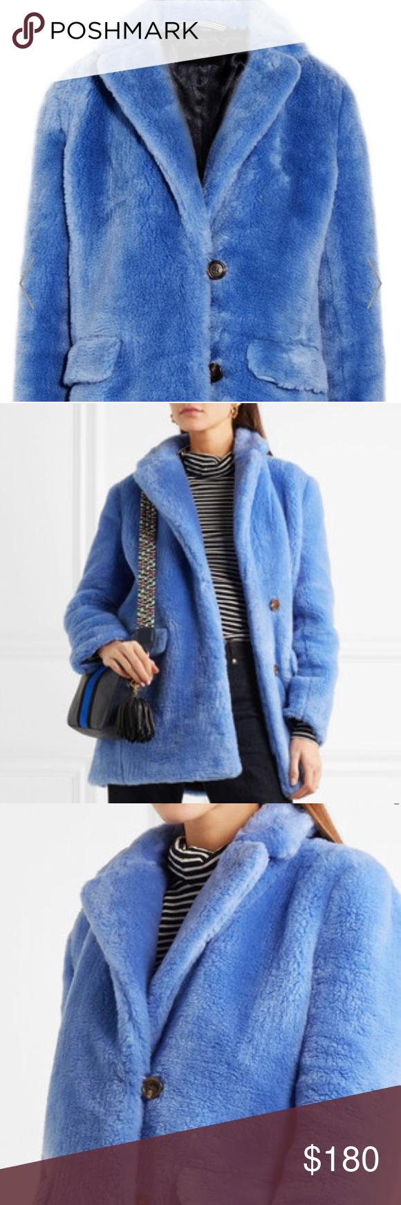JCrew Yana Faux Fur Coat Brand new, with tags. Great coat! Retail $250. J. Crew Jackets & Coats Pea Coats