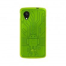 Capa Nexus 5 - Cruzerlite Bugdroid Circuit Case - Green  R$51,21