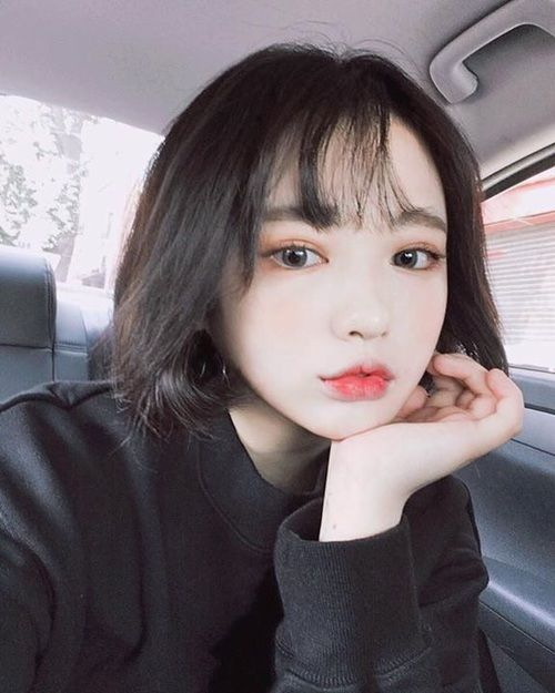 Billedresultat for koreansk pige med kort sort hårhår-7484