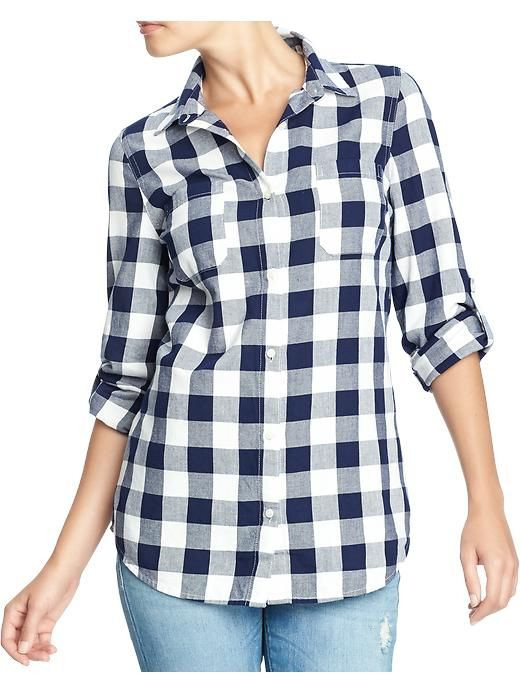 Old Navy | Women's Checked Flannel Shirts | Fashion | Pinterest ...