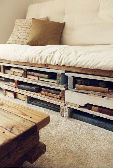 Easy Diy Ideas For Pallet Beds L Appartement Pinterest