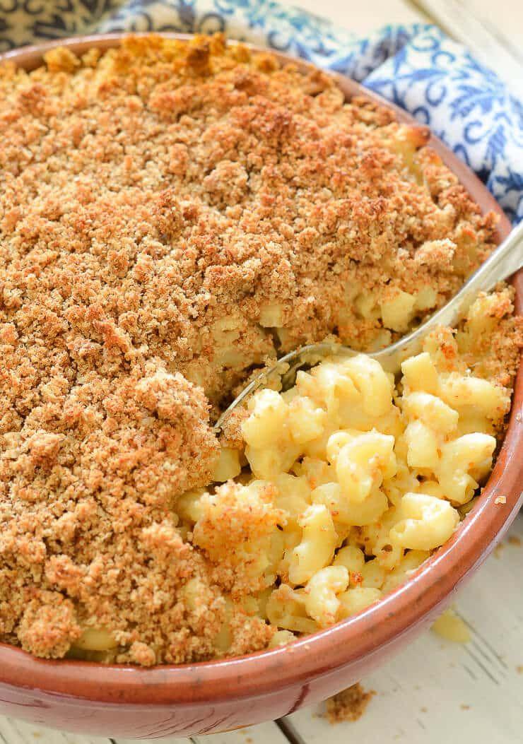 Baked Vegan Mac And Cheese Recipe Vegan Mac And Cheese