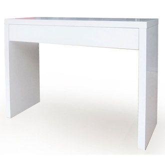 Pingl par laetitia gd sur chambre console tiroir console et console blanc laqu - Console murale avec tiroir ...