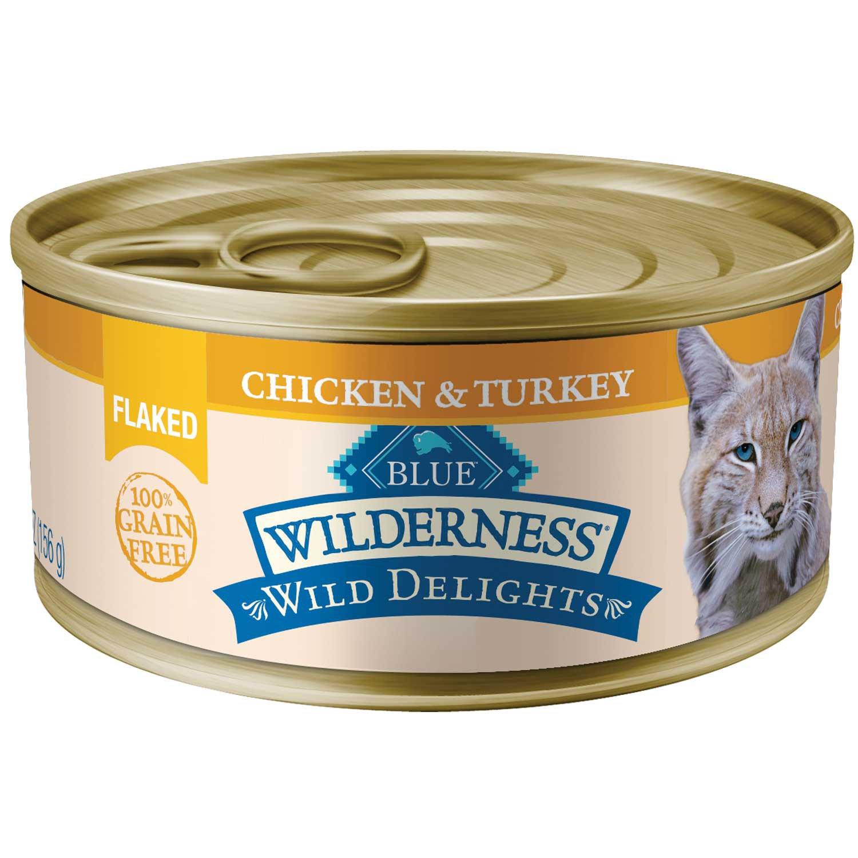 Blue Buffalo Blue Wilderness Wild Delights Flaked Chicken