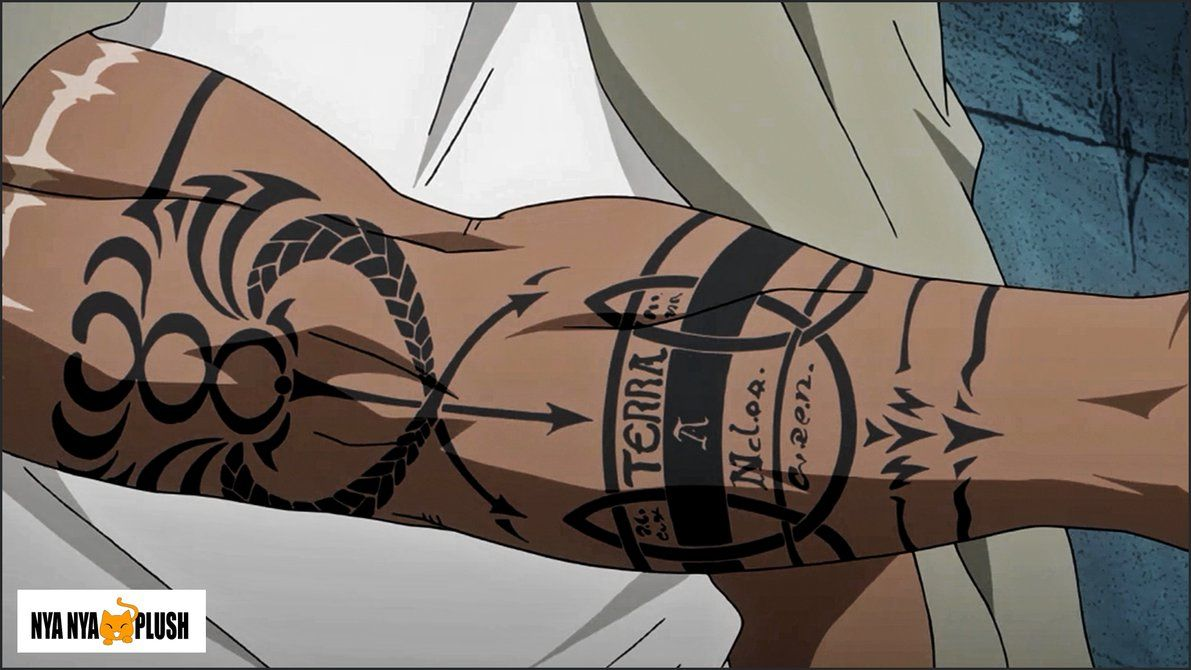 Fullmetal Alchemist Brotherhood - Scar's Right Arm by Nya-Nya-Plush   Fullmetal alchemist ...