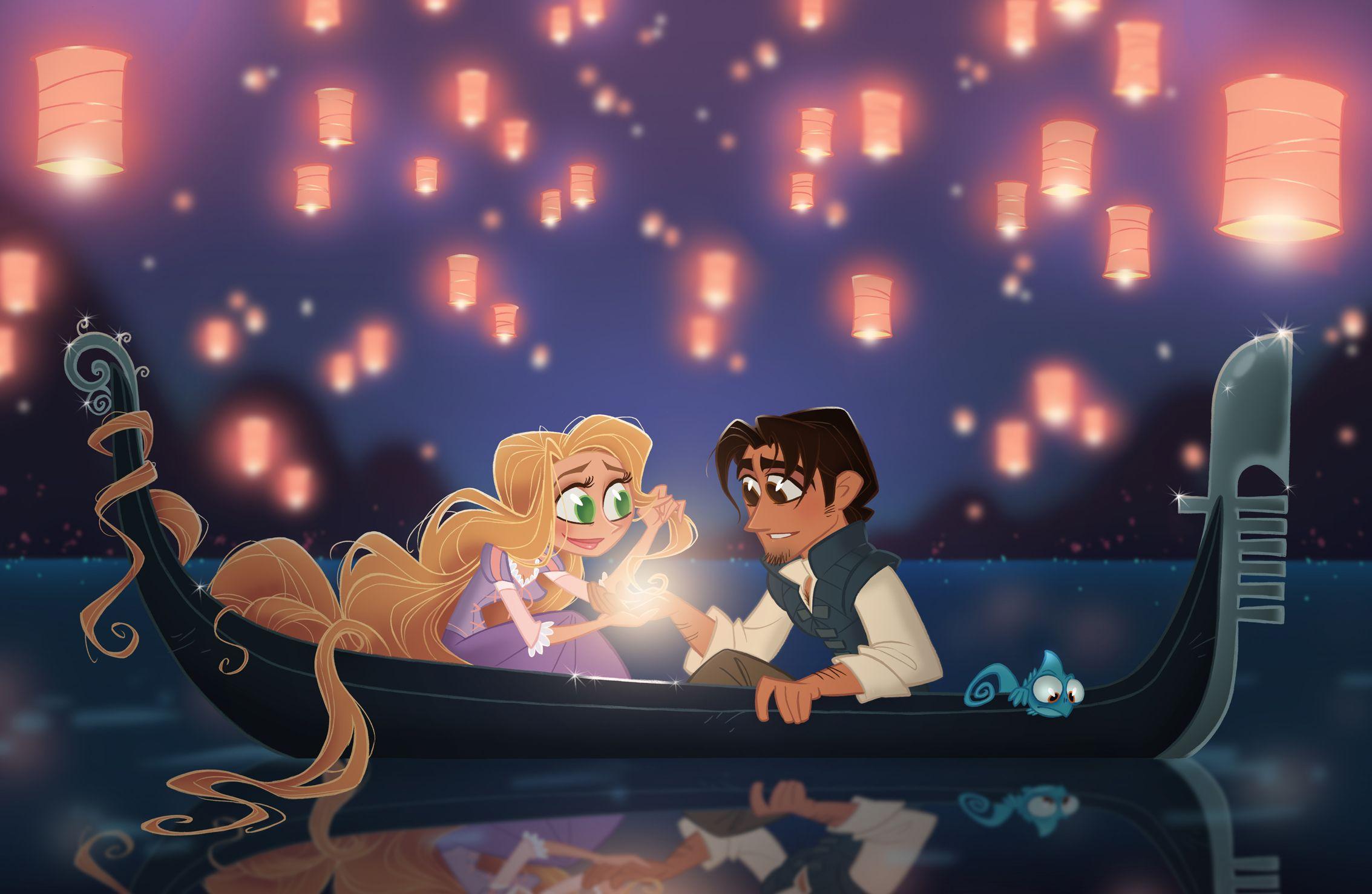 David Gilson's Chibies - Disney Rapunzel