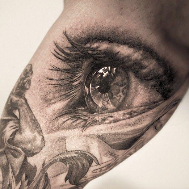 Realistic Eye Tattoo 2