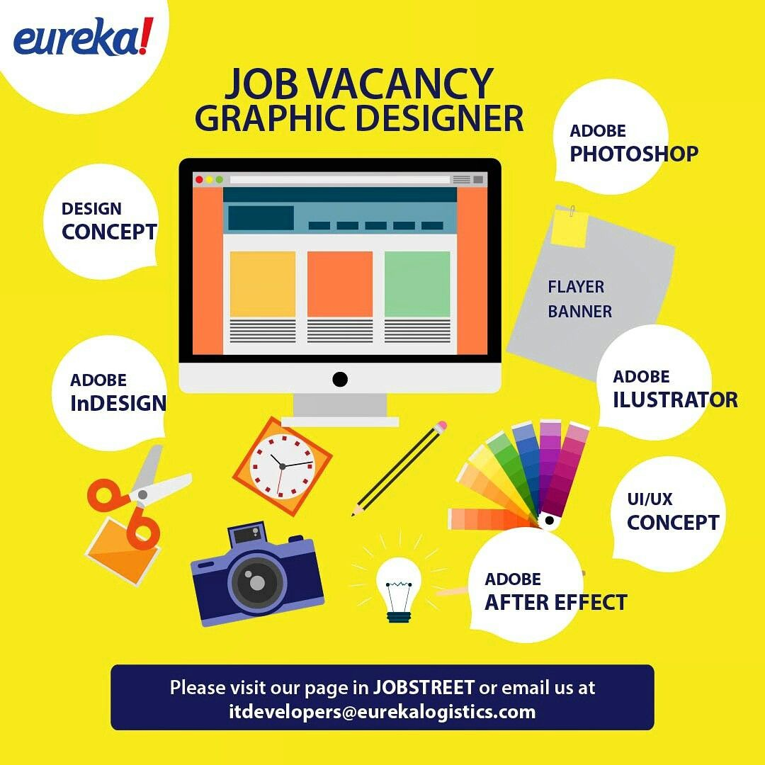 Job Vacancy Graphic Designer Please Visit Our Page In Jobstreet