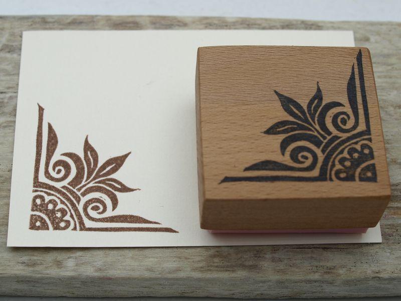 handcarved stamp nettis stampelart stamps. Black Bedroom Furniture Sets. Home Design Ideas