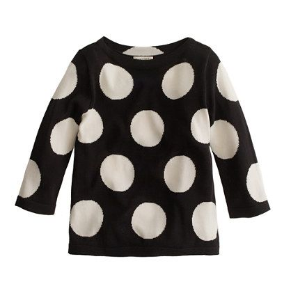 mega-dot sweater